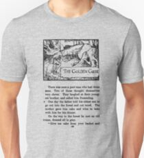The Golden Goose Grimm's Fairy Tale Page One Unisex T-Shirt