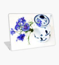 Blue Cornflower Display  Laptop Skin