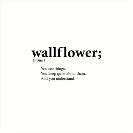 Wallflower by mermaidreads