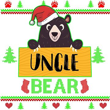 uncle bear by ZEETEESAPPAREL