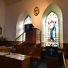 Duddingston Kirk Pulpit by Nik Watt