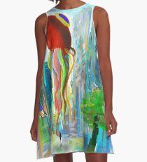 Strange city 2 A-Line Dress