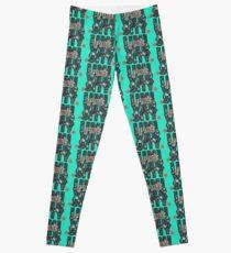 University and College | Batik Floral | Q2 |  University of Utah Leggings