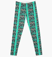University and College | Batik Floral | Q2 |  University of Virginia Leggings
