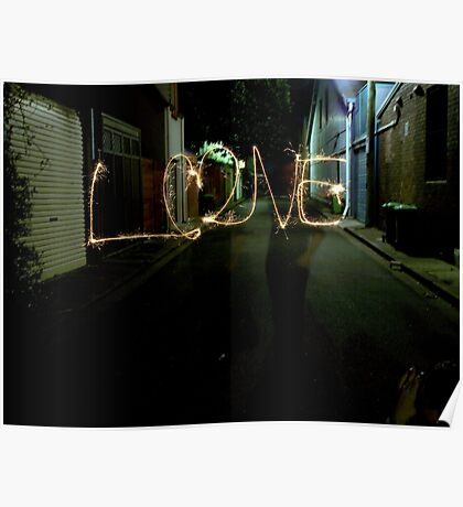 Love in a Laneway! Poster