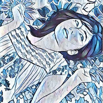 Blue Bjork by bespired