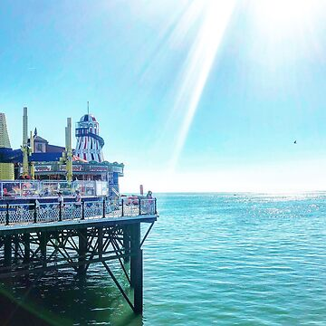 View of Brighton Pier by rose511