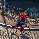 School run Amsterdam style. by naranzaria