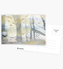 watercolour limpet Postcards