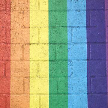 Rainbow Bricks by rose511
