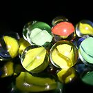 Marbles One by Yvonne Carsley