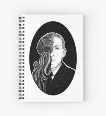 HP Lovecraft & Cthulhu Portrait Spiral Notebook