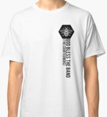 Camiseta clásica Cortesanos // Manchester Bee Crest - God Bless The Band