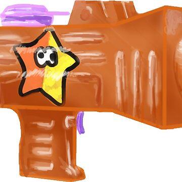 Custom Splattershot jr by AstroRose