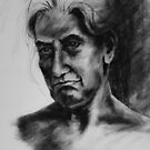 Portrait in charcoal 2015/1 by Mick Kupresanin