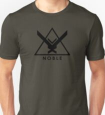 Noble Six - Halo Reach (Black) Unisex T-Shirt