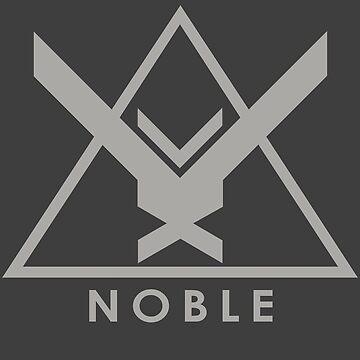 Noble Six - Halo Reach (Grey) by Randy8560