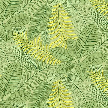Tropical Leaves by lents