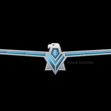 1966 Ford Thunderbird Emblem by azoid