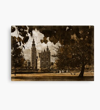 Greetings from Copenhagen Canvas Print