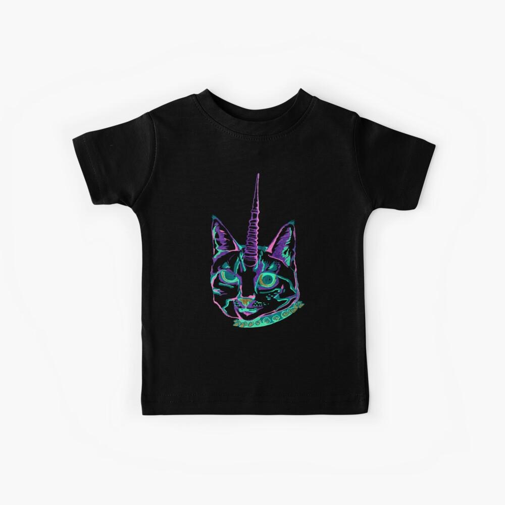 Punk Caticorn Kinder T-Shirt