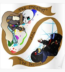 The Creator and The Destroyer Poster
