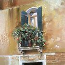 Venetian Balcony by Graham Clark