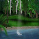 Moon lit Grato by Glassplant