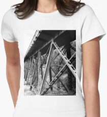 Railroad Women's Fitted T-Shirt