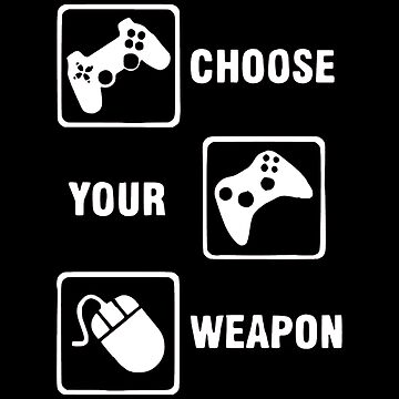 Gaming Controller Choose Your Weapon by OtakuPapercraft