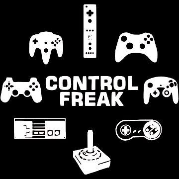 Control Freak Gaming Pads by OtakuPapercraft