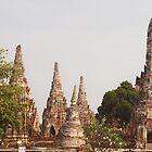 Wat Chaiwatthanaram - Ayutthaya Thailand by distracted