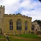 St Peter's Church-Brafferton Helperby,North Yorks by Trevor Kersley