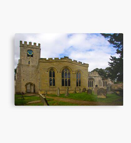 St Peter's Church-Brafferton Helperby,North Yorks Metal Print