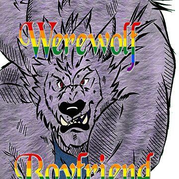 Gay Werewolf Boyfriend by DrkHikari