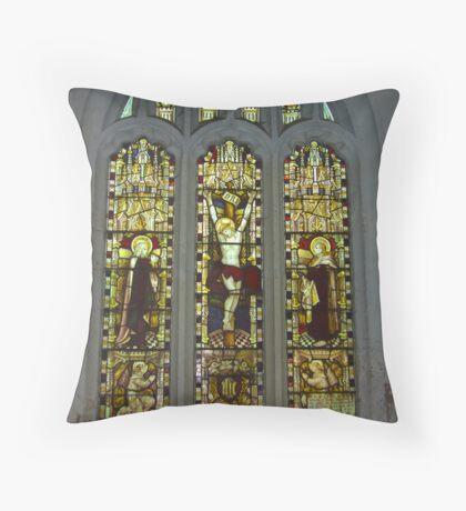 Window #2 St Peter's Church Throw Pillow