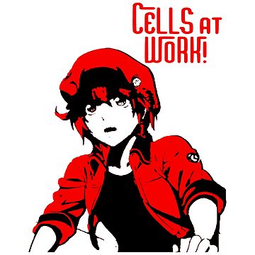 Cells at Work - Red Blood Cell by OtakuPapercraft