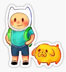 Finn & Jake - Adventure Time Sticker