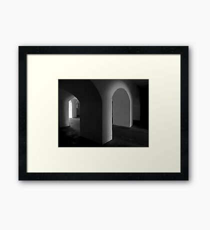 Fort Moultrie Framed Print