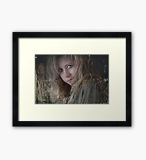 The Ups and Downs That Are Me Framed Print