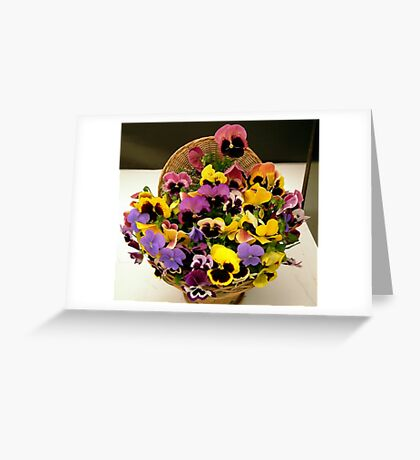 Pocket Full of Posies Greeting Card