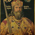 Charlemagne by Albrecht Dürer by edsimoneit
