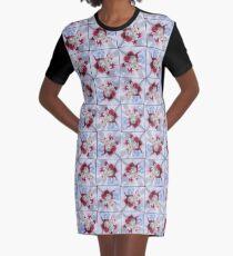 Amarena Swirl Graphic T-Shirt Dress