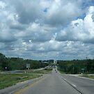 Driving Down The Highway by Linda Miller Gesualdo