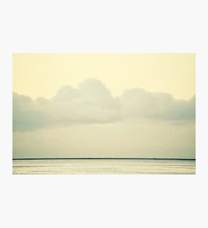 White Wall Photographic Print