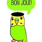 Bon Jour! by parakeetart