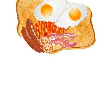 English Breakfast  T-Shirt by ESSTEE