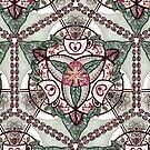 «Mandala de café» de Johanna-Draws