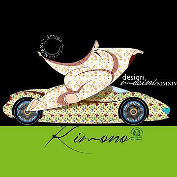 Kimonosan Electric Car by pupazzodesign