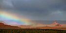 Rain in Valley of the Gods, Utah by Erwin G. Kotzab